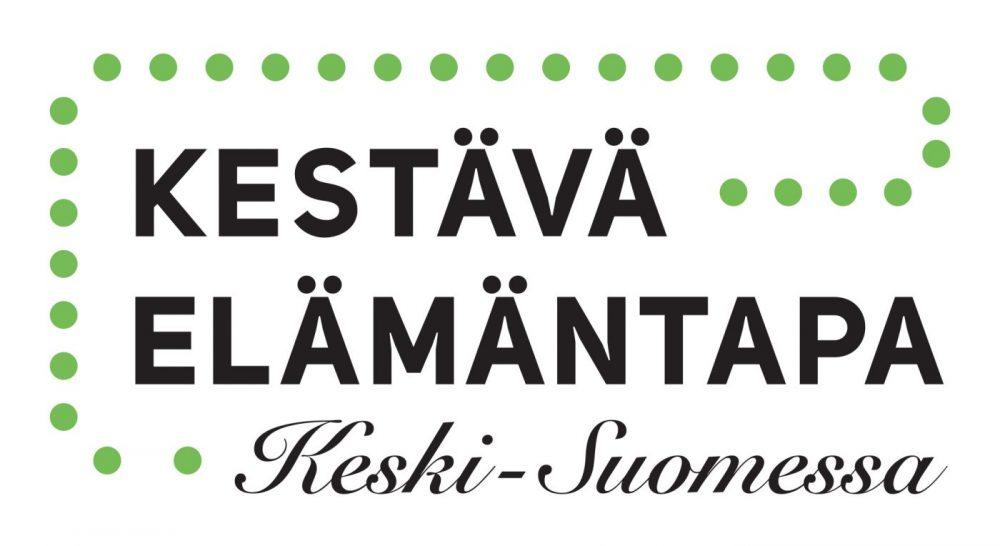 Kestävä elämäntapa Keski-Suomessa -logo