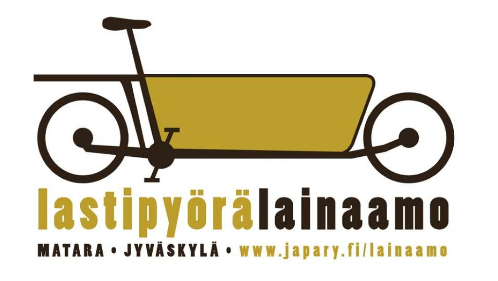 Lastipyörälainaamon logo