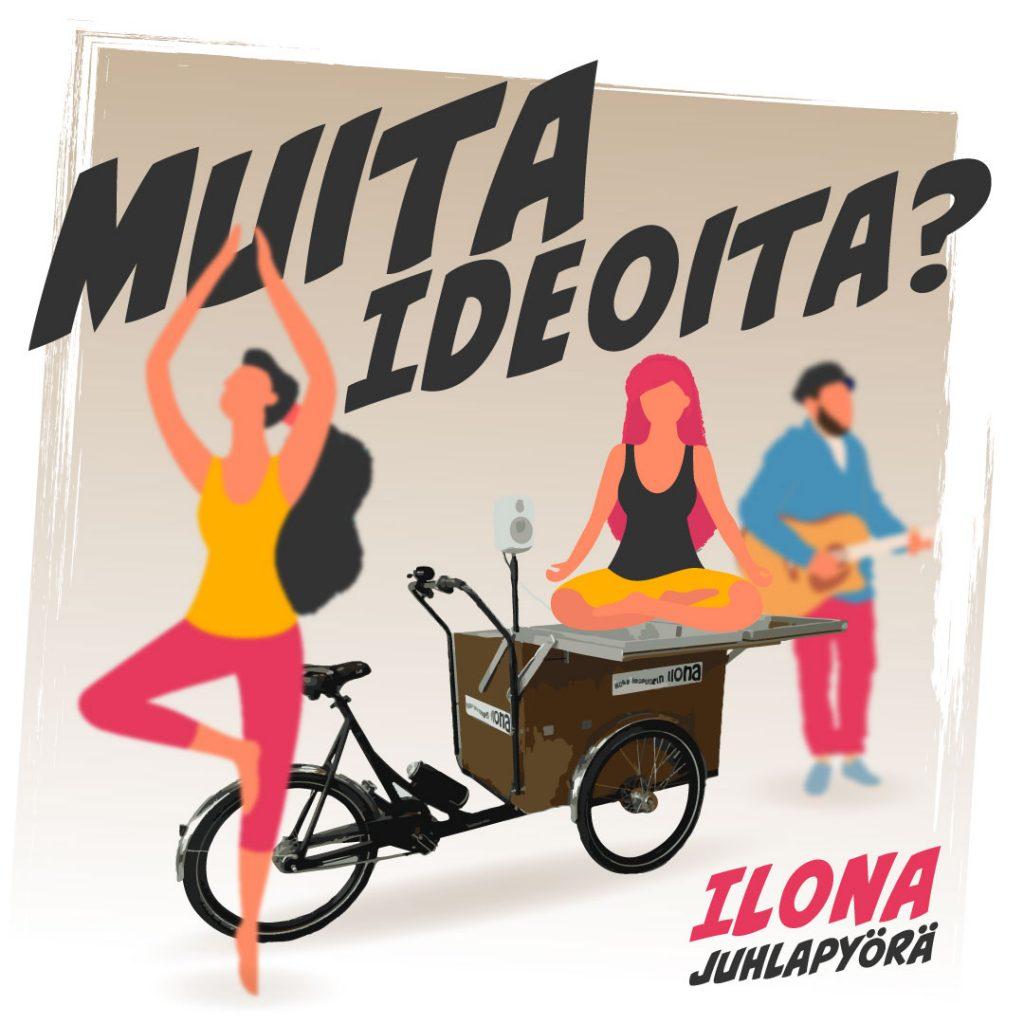 Ilona-juhlapyörän käyttö: muita ideoita?