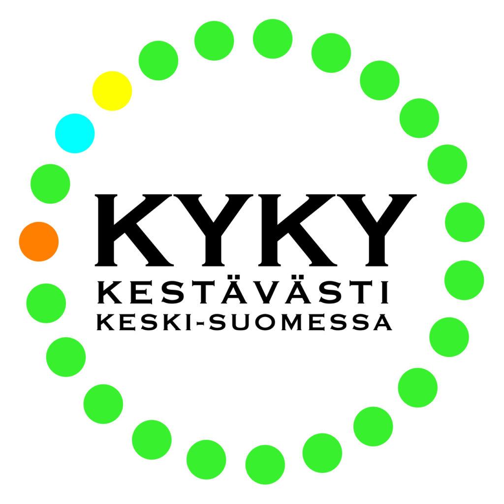 KYKY kestävästi keski-suomessa -logo