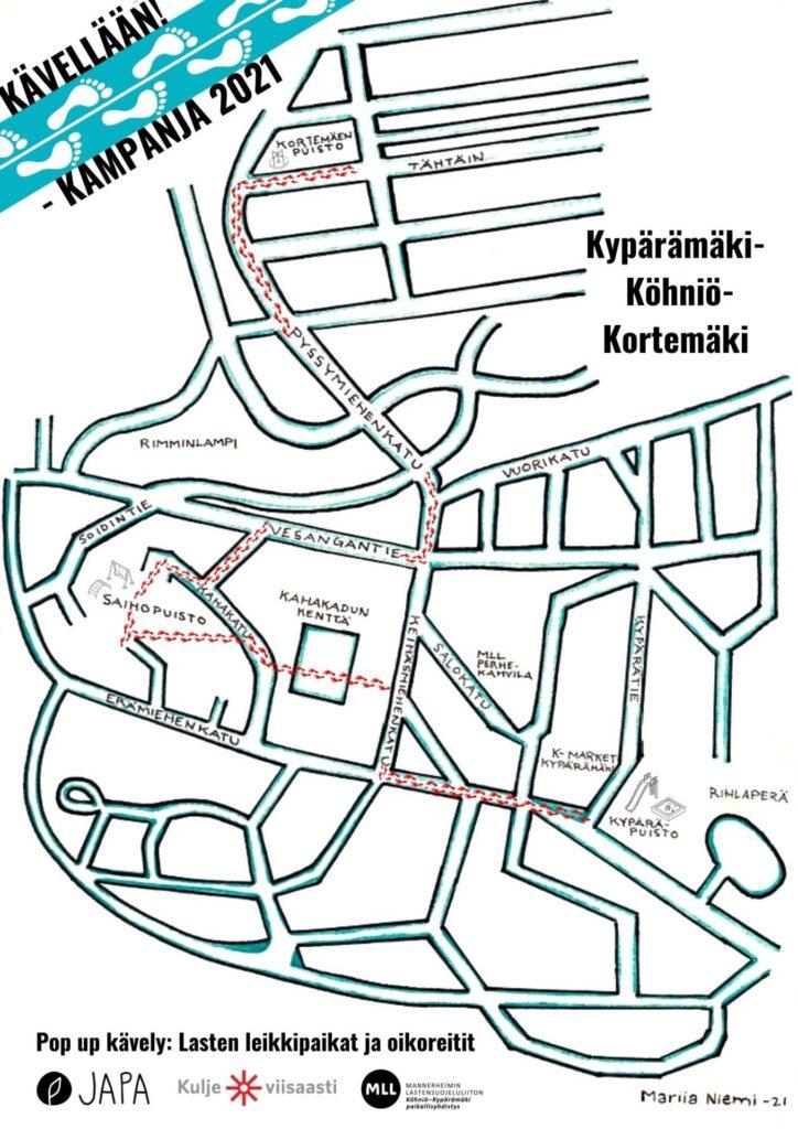 kartta, kuvituskuva